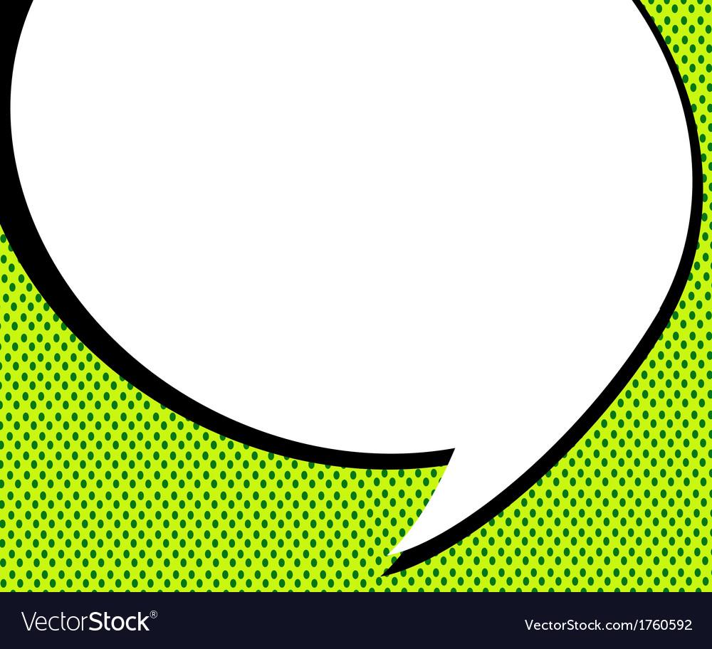 Blank empty speech bubbles vector | Price: 1 Credit (USD $1)