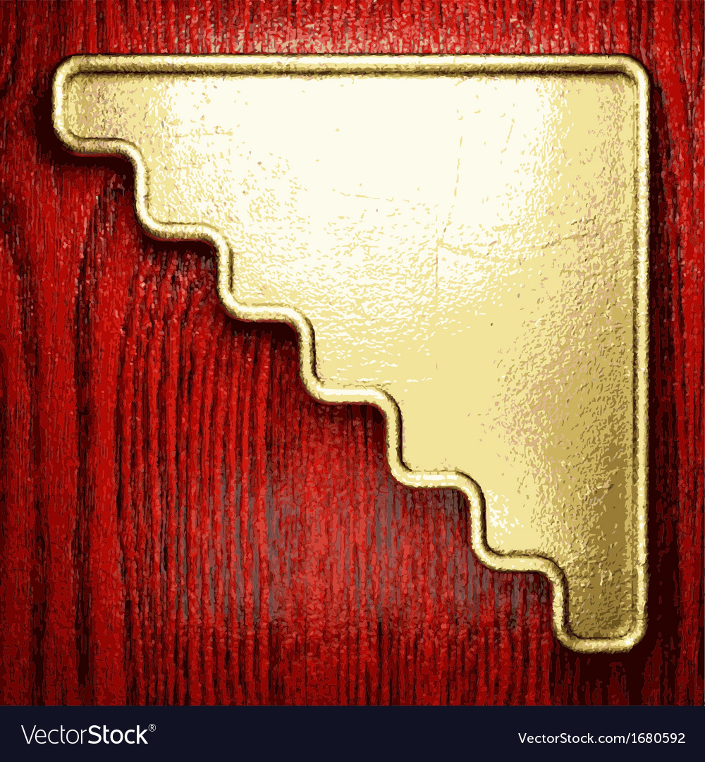 Golden and wood background vector   Price: 1 Credit (USD $1)