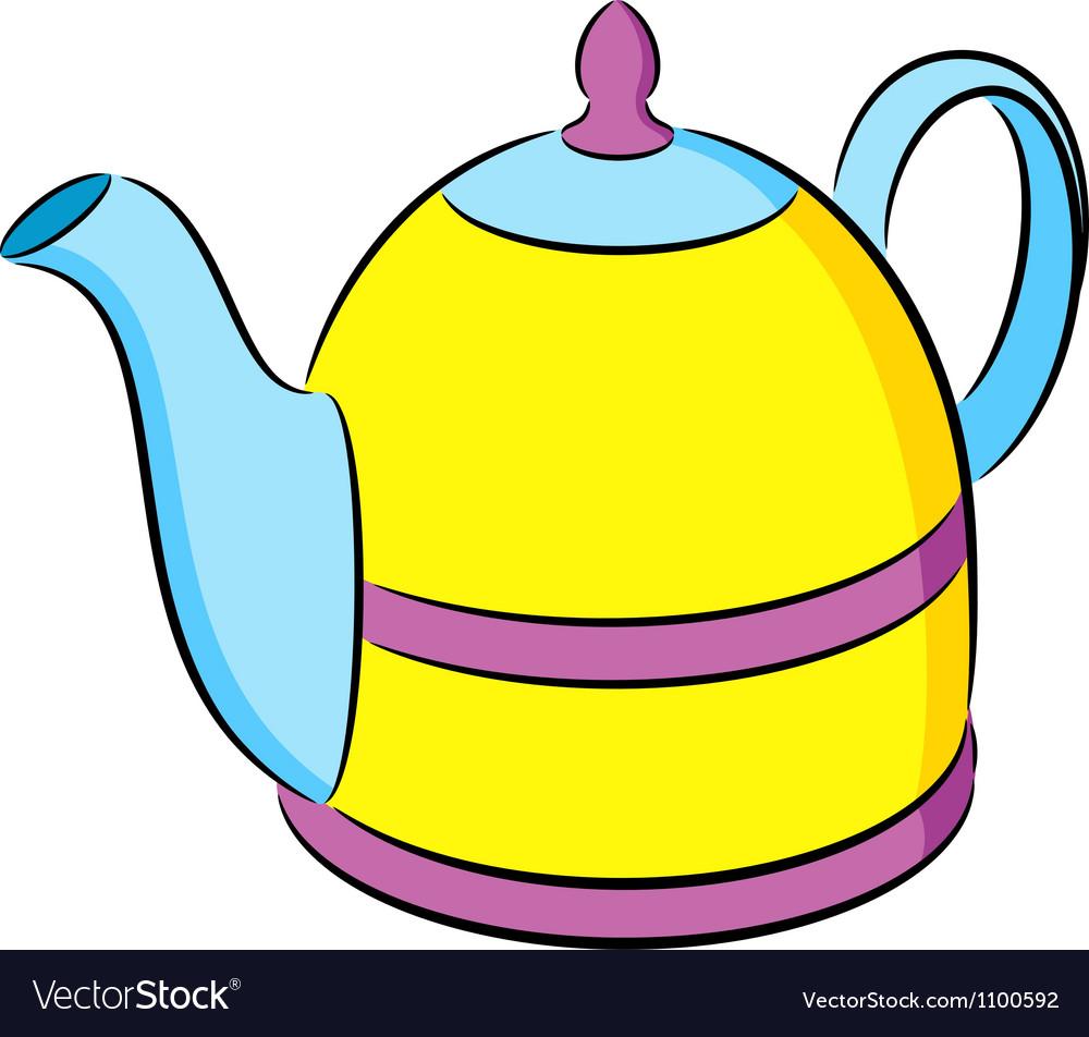 Teapot vector | Price: 1 Credit (USD $1)