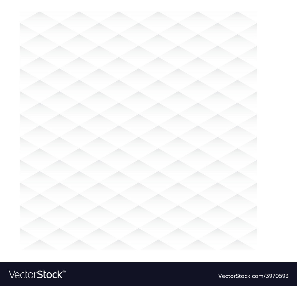 Abstract rhombus seamless white texture vector | Price: 1 Credit (USD $1)