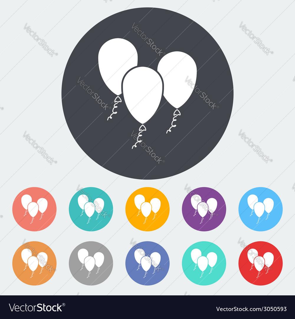 Ballon vector | Price: 1 Credit (USD $1)