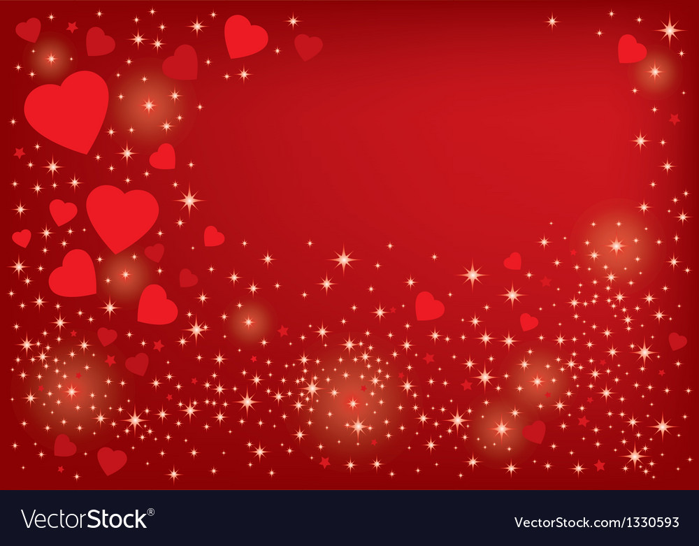 Hearts background design vector | Price: 1 Credit (USD $1)