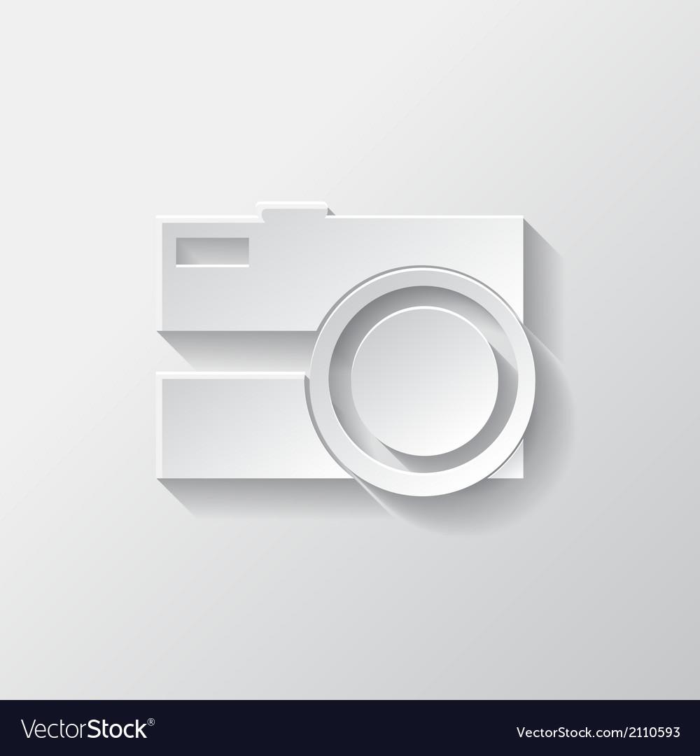 Photo camera icon photography vector   Price: 1 Credit (USD $1)