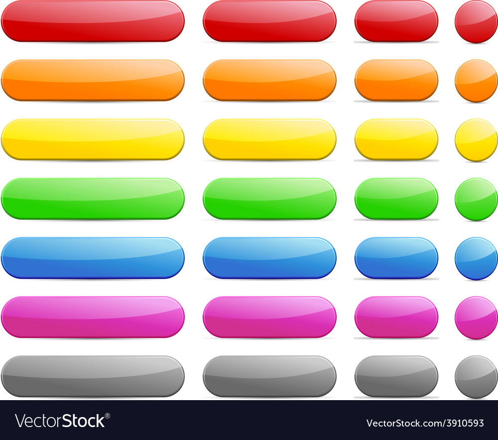 Web blank buttons vector   Price: 1 Credit (USD $1)