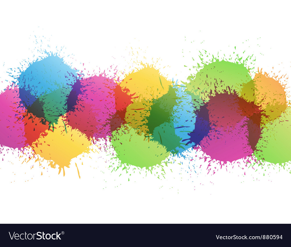 Color paint vector | Price: 1 Credit (USD $1)