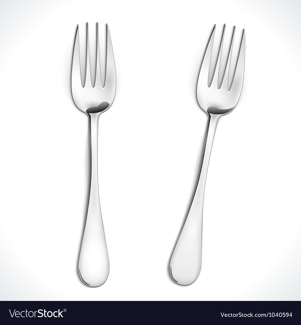 Fork vector | Price: 1 Credit (USD $1)