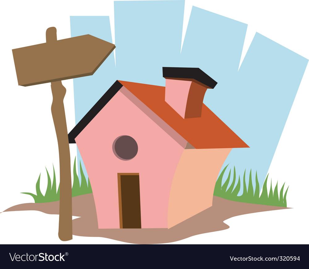 Mini house vector | Price: 1 Credit (USD $1)