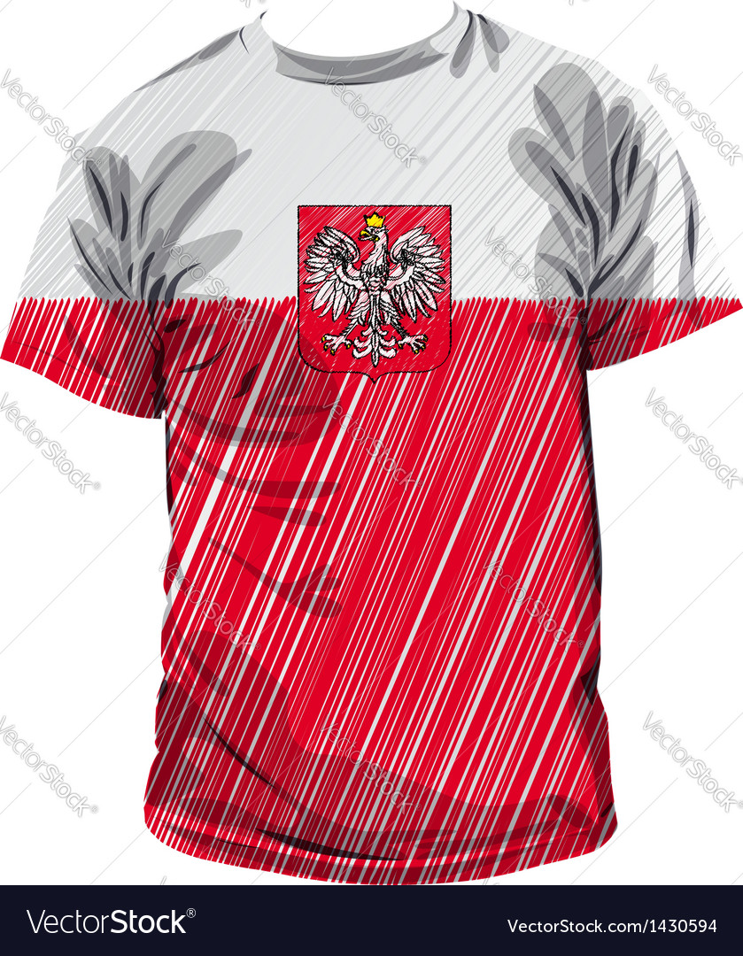 Polan tee vector | Price: 1 Credit (USD $1)