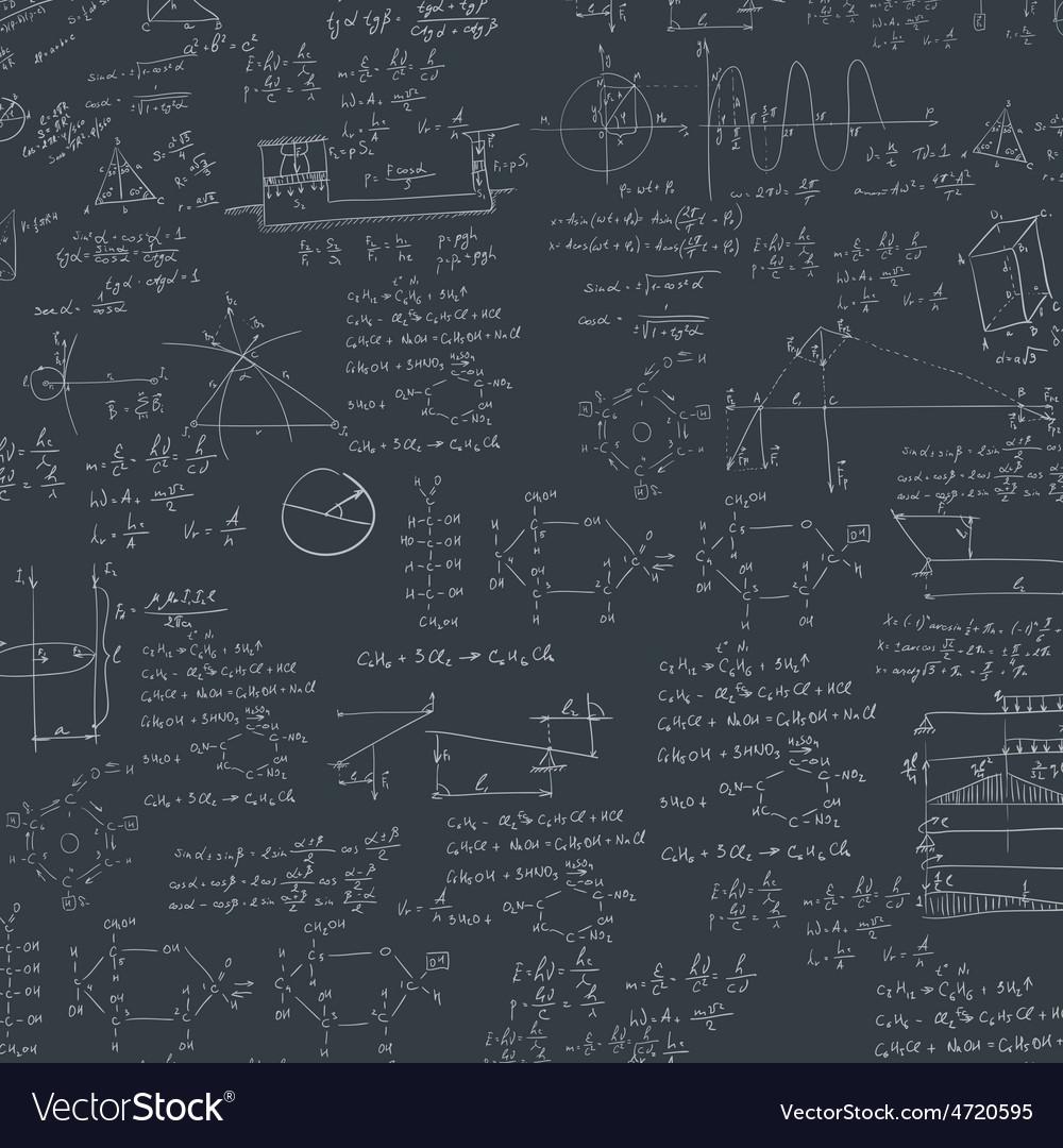 Formula in blackboard vector | Price: 1 Credit (USD $1)