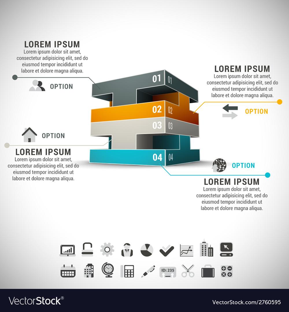 Infographic vector | Price: 1 Credit (USD $1)