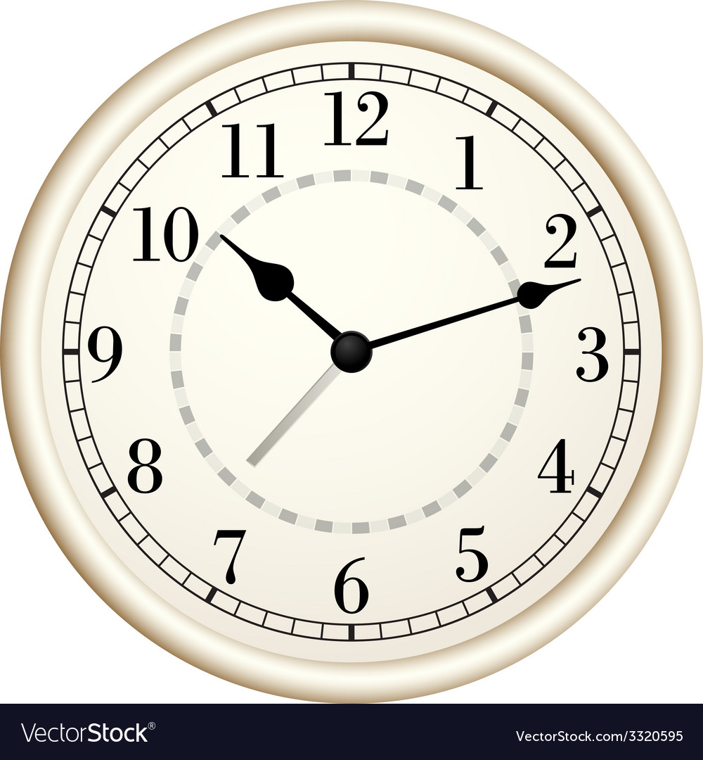 Old clock vector | Price: 1 Credit (USD $1)