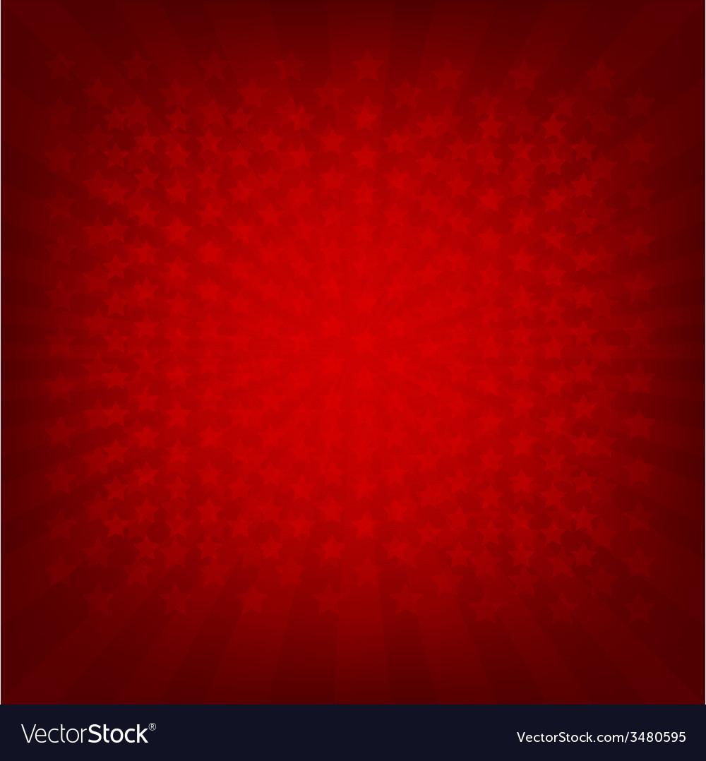 Red sunburst banner vector | Price: 1 Credit (USD $1)