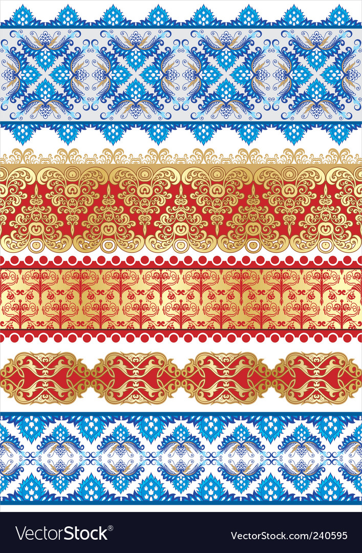 Textiles patterns vector | Price: 1 Credit (USD $1)