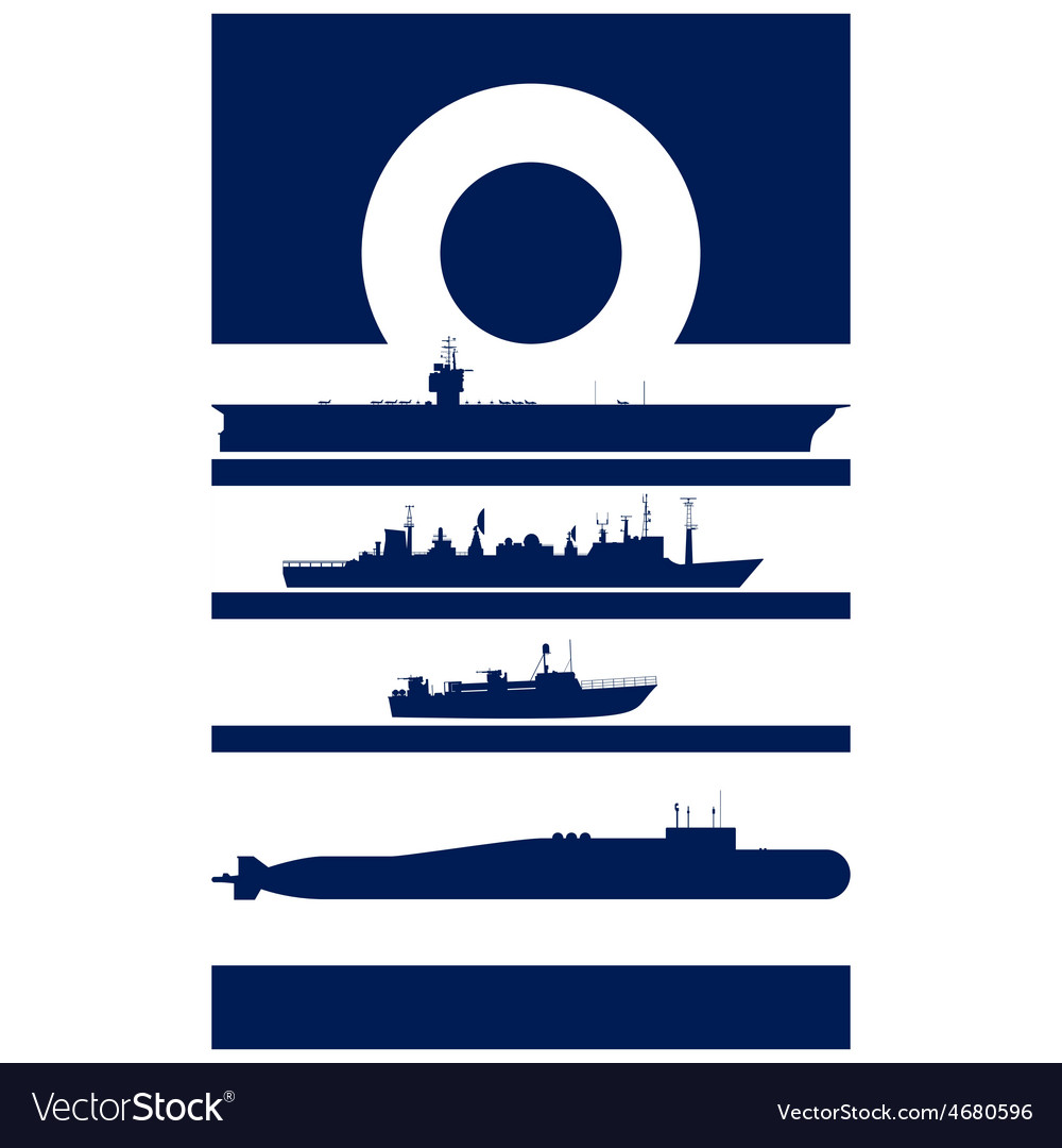 Abstract insignia navy admiral vector | Price: 1 Credit (USD $1)