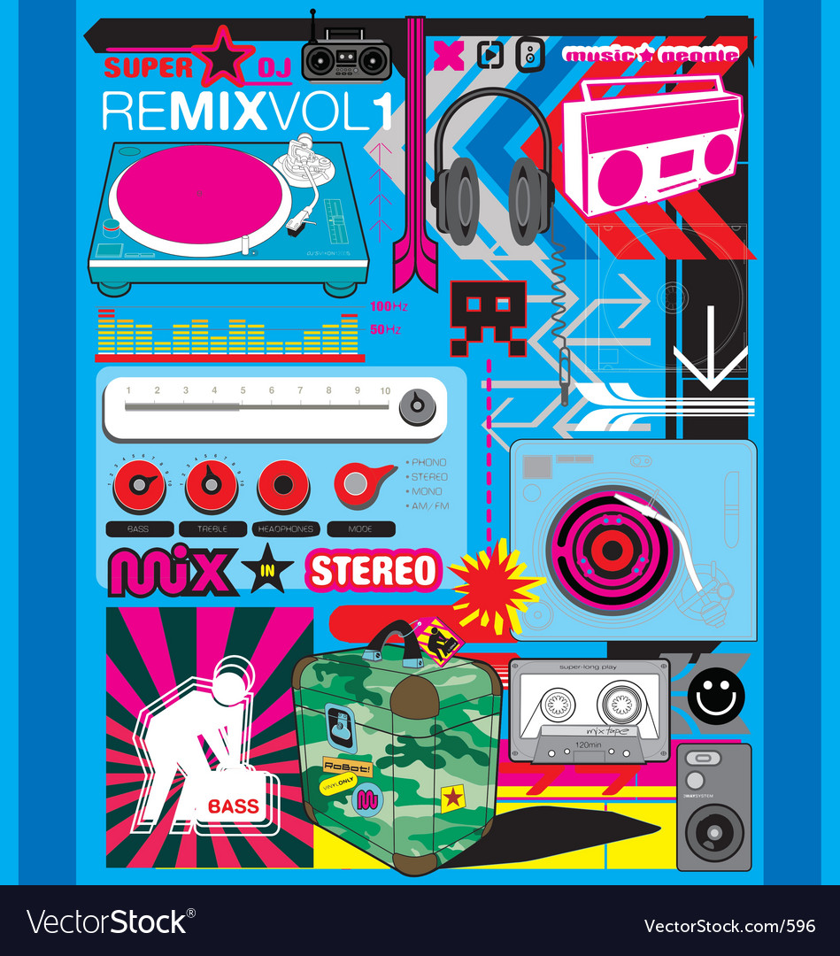 Remix vector | Price: 1 Credit (USD $1)