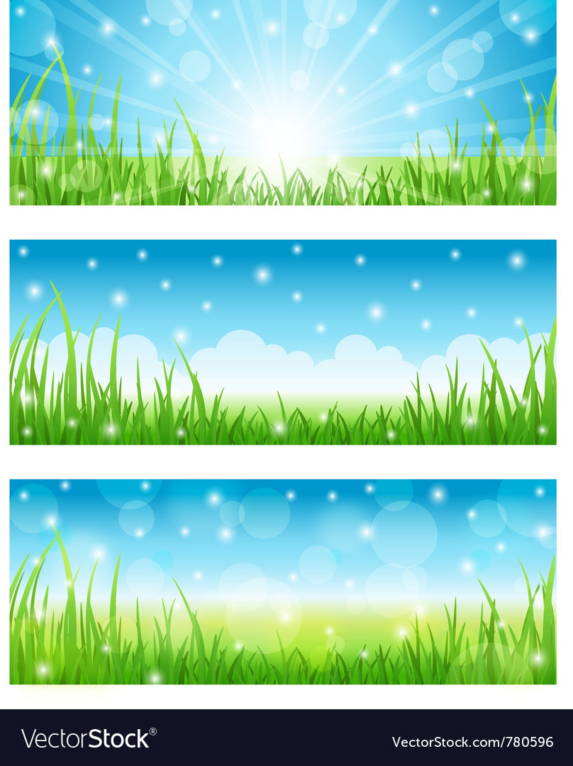 Set of summer abstract background vector | Price: 1 Credit (USD $1)