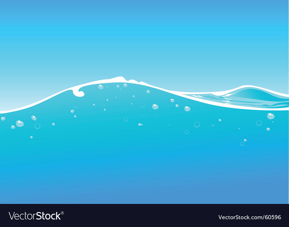 Water wave vector | Price: 1 Credit (USD $1)