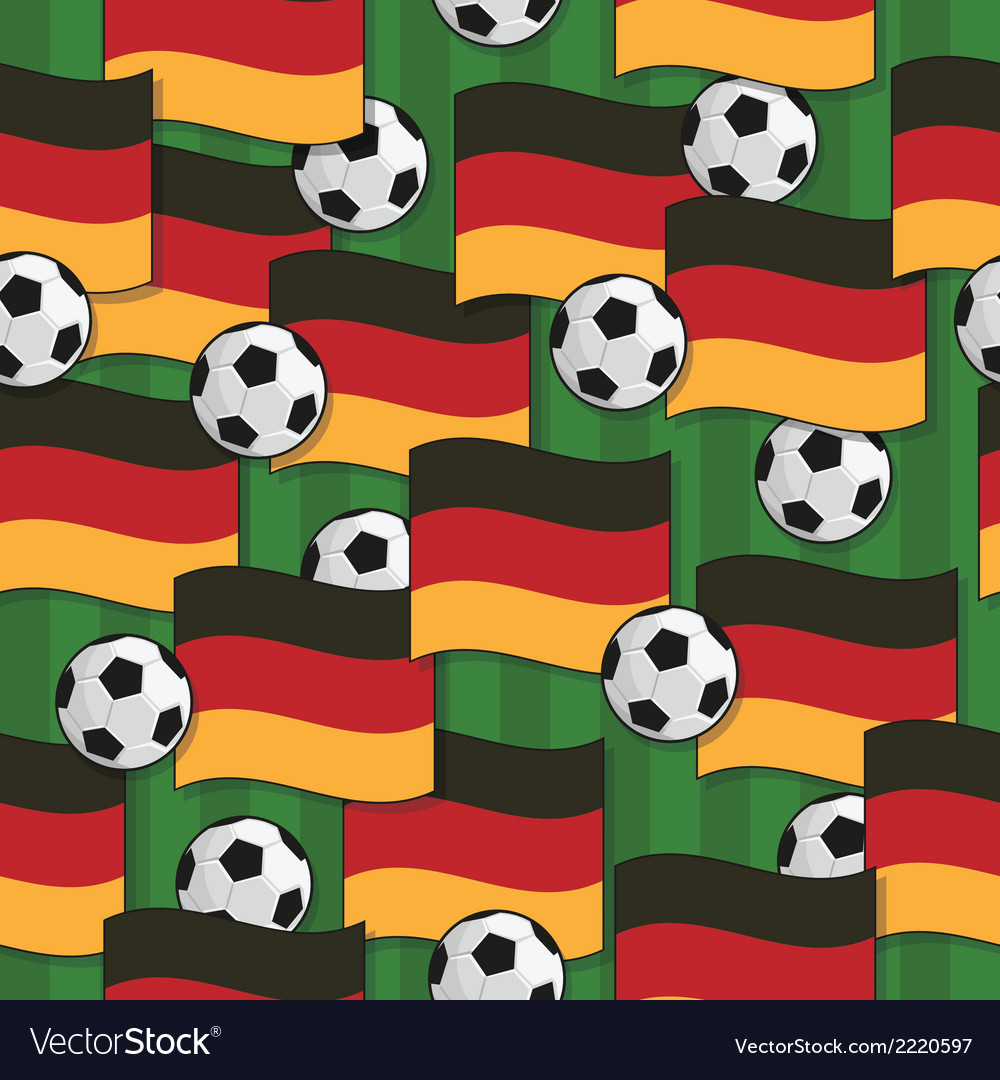 Germany football pattern vector   Price: 1 Credit (USD $1)