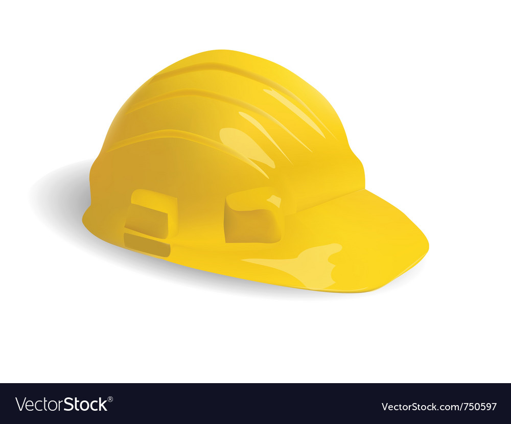 Isolated hard hat vector | Price: 1 Credit (USD $1)