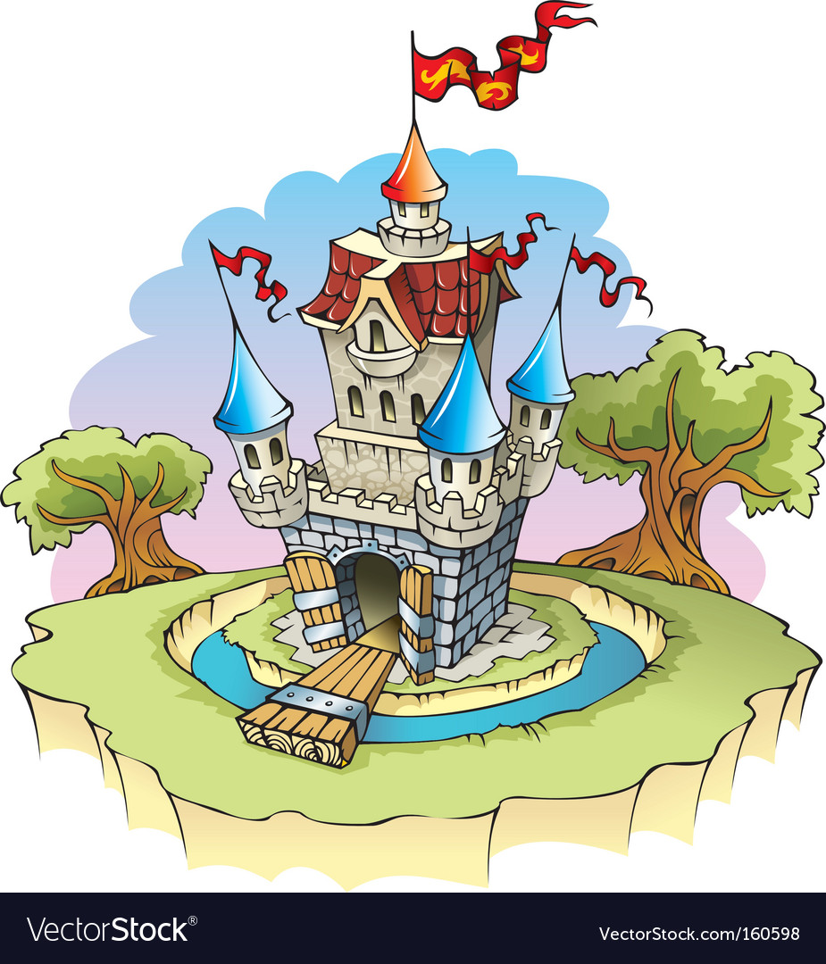 Fantasy castle vector | Price: 3 Credit (USD $3)