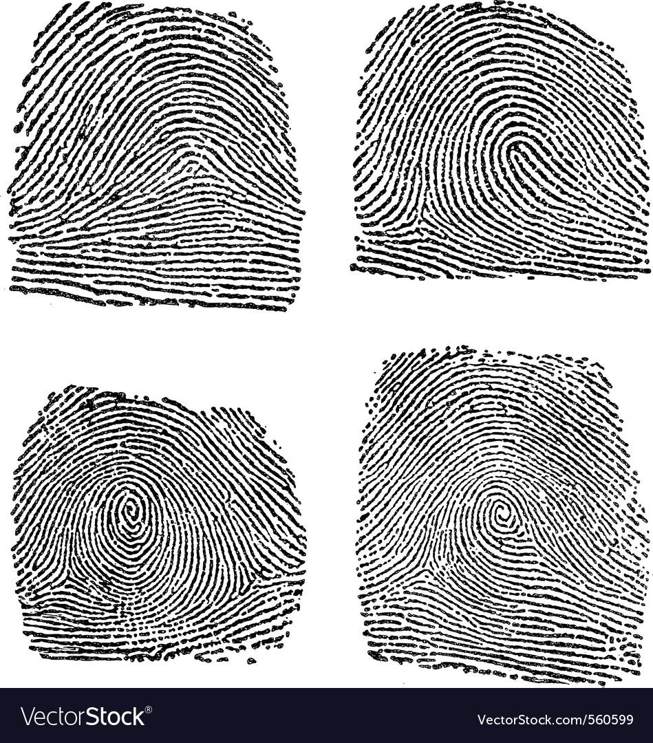 Fingerprint index vector   Price: 1 Credit (USD $1)