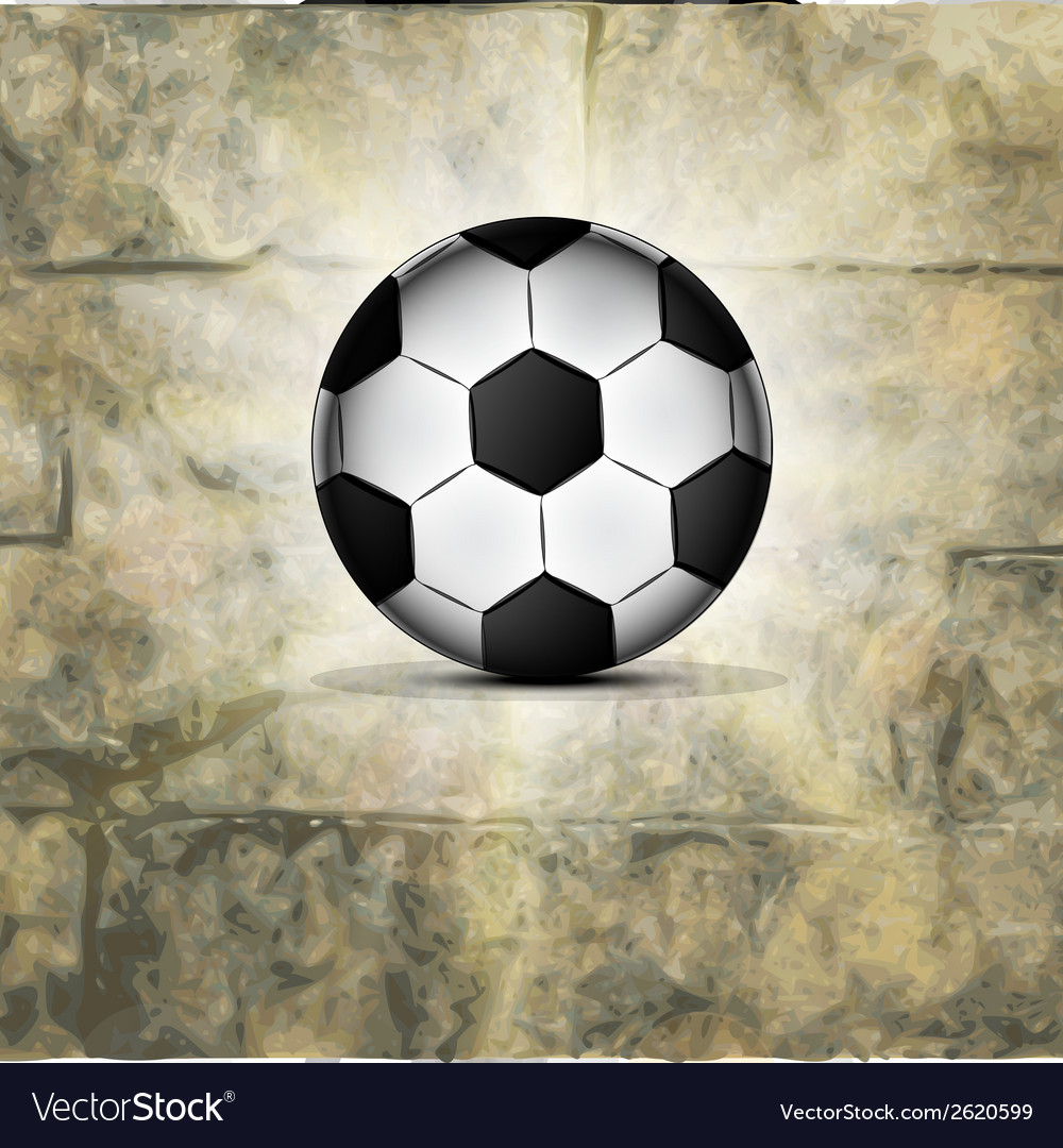 Soccer ball icon flat design vector | Price: 1 Credit (USD $1)