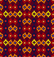 Tribal seamless pattern of rhombuses vector
