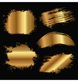 Gold stain vector
