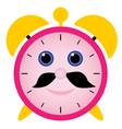 Funny alarm clock vector