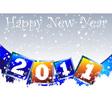 2011 new year clip art vector