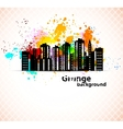 Urban grunge background vector