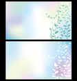 Flover background vector