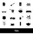 Tea icons eps10 vector