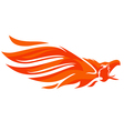 Phoenix logo eagle vector