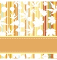 Retro pattern with autumn leafs eps 8 vector