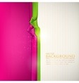 Abstract background with multicolored ribbons vector