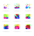Colorful design elements vector