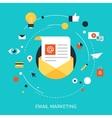 E-mail marketing vector