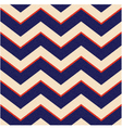 Seamless patriotic chevron background vector