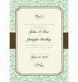 Vintage invitations vector