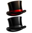 Gentleman top hat vector