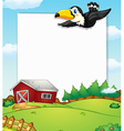 Countryside banner vector