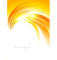 Abstract sunny orange background vector