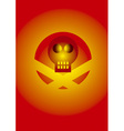 Skull icon with effects vector