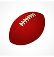 American football ball vector