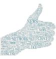 The thumbs up symbol social media themes vector