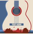 Concert poster of music festival vector