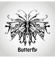 Graphic butterfly vector