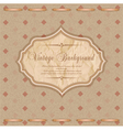 Vintage congratulatory background vector