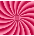 Strawberry cream abstract hypnotic background vector
